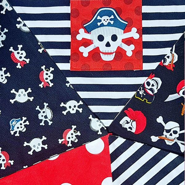 Pirate Dog Bandanas