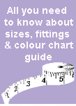 How to get the right Size, colour charts, dimensions, etc